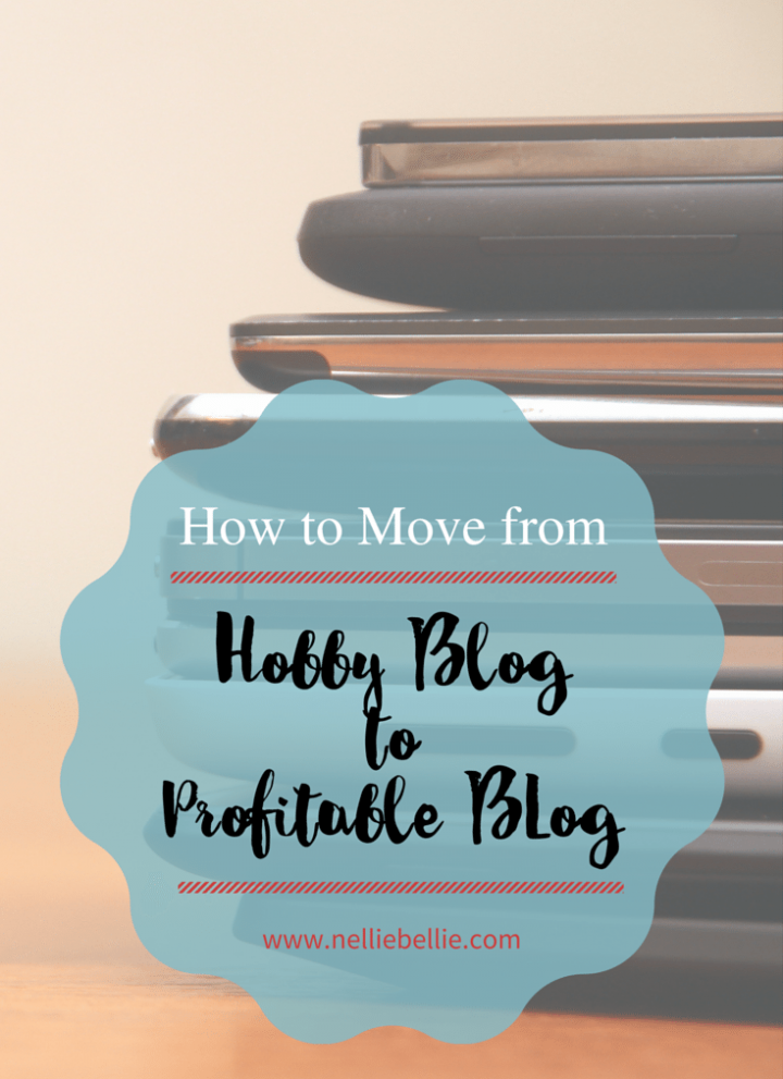 How to move from hobby blog to profitable, successful blog.