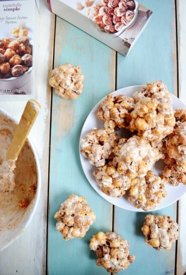 3 ingredient Popcorn Balls [Lazy Baker]