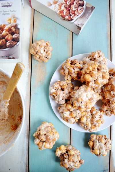 Easy to make 3 ingredient Popcorn Balls. Make these up for Christmas treats!