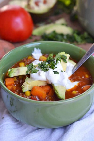 One-Pot Sweet Potato Chili Recipe