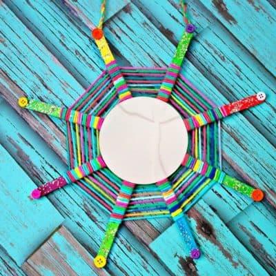 God's Eye mirror craft