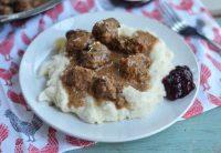 traditional swedish meatballs recipe