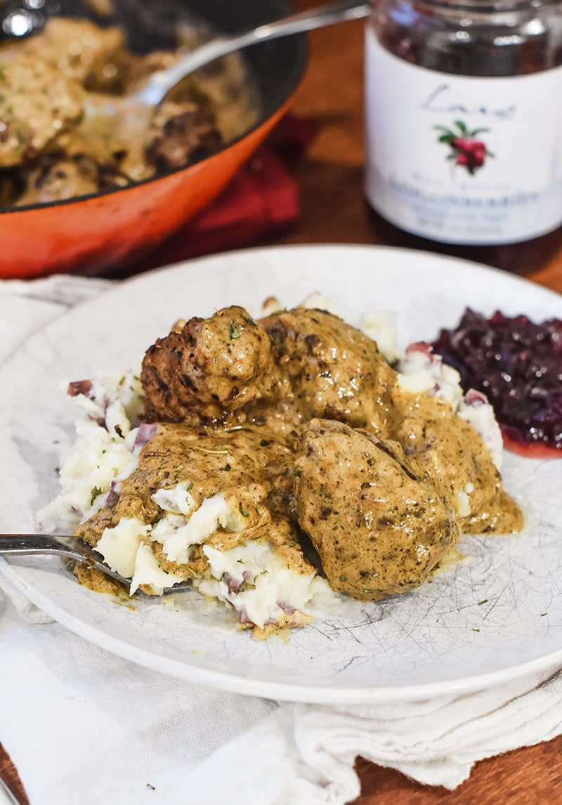 authentic swedish meatballs recipe