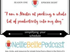 EPISODE 8: SIMPLIFYING YOUR SCHEDULE