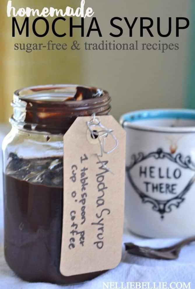 homemade Mocha Syrup
