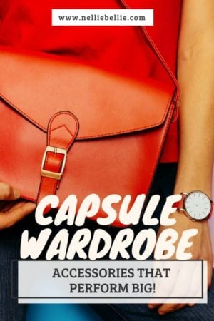 Make your capsule wardrobe perform big! Accessories that are great for multi-purpose and style.