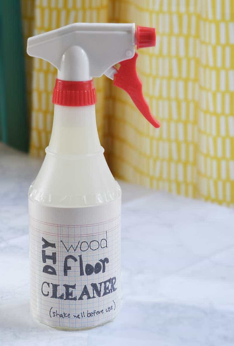 Making homemade wood floor cleaner is easier than you may think, works great, and is customizable to your preferences. And, it's gentle on the earth!