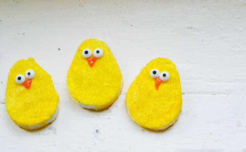Make your own homemade Marshmallow Peep eggs at home! An easy recipe and tutorial teaching you how to make your own peep eggs. Easy and delicious! A great kid's activity.