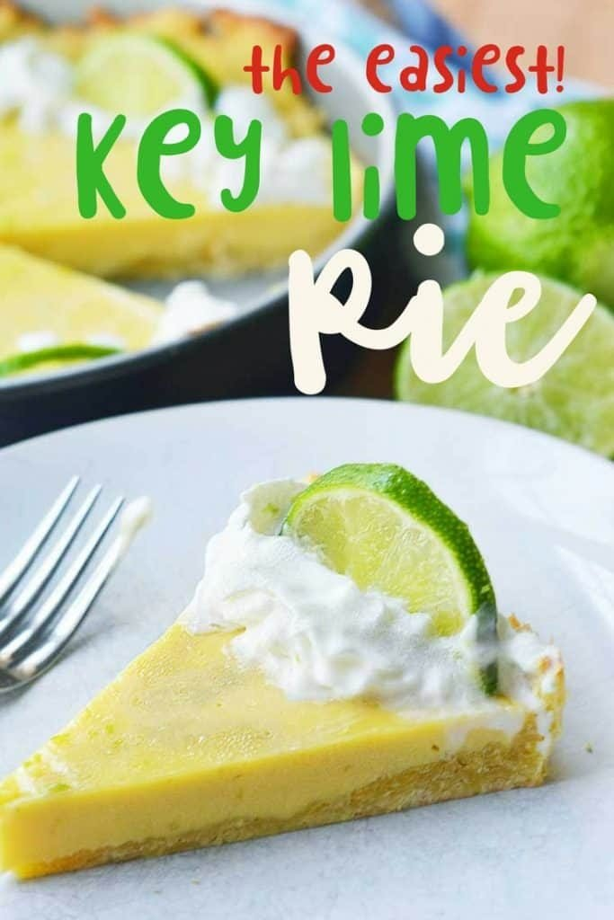 easy key lime pie. A delicious summer pie recipe!