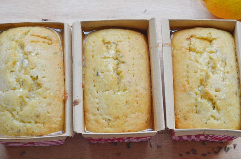Lavender and lemon pair together to make an absolutely delightful quick bread.