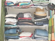 10 things to toss from your closet right now! Looking for simple ways to reduce the size of your closet? Try these steps first.