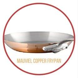 Mauviel Copper Frypan