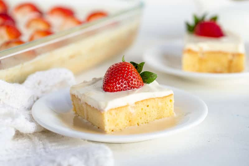 Tres Leches Cake (Three Milk Cake)