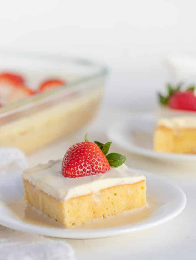 the Best Tres Leches Cake (Milk Cake)