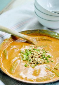 15-minute Peanut Curry Sauce and Rice