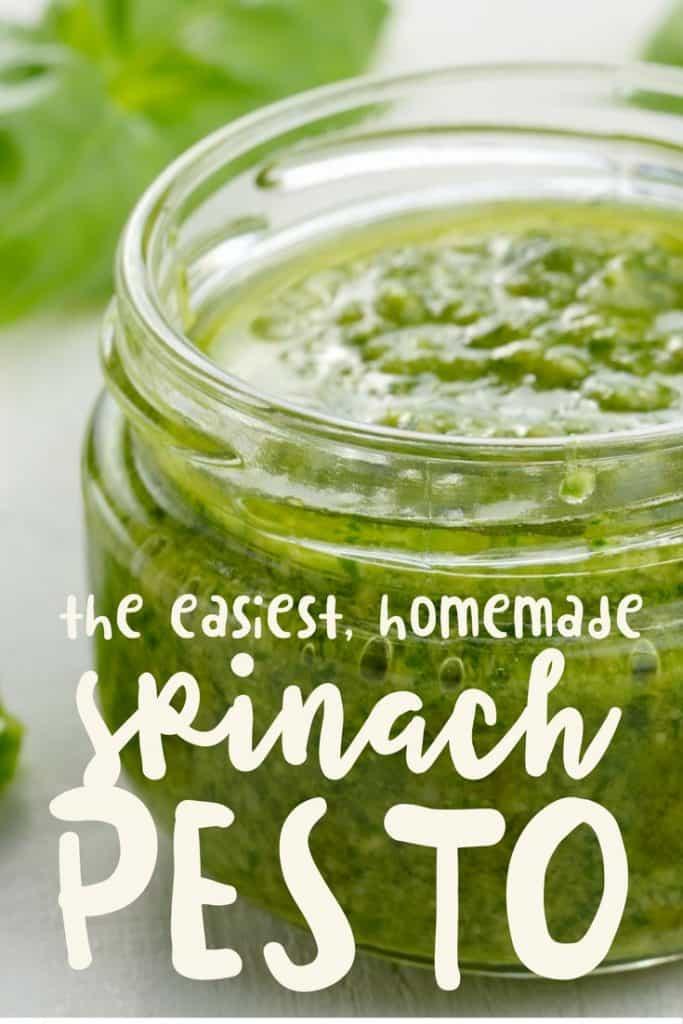 easy spinach pesto recipe
