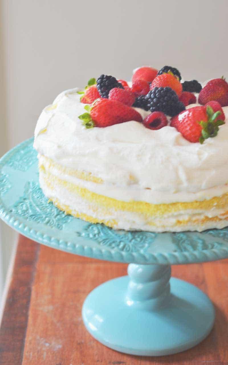 Three Leche Cake How To Do Easy