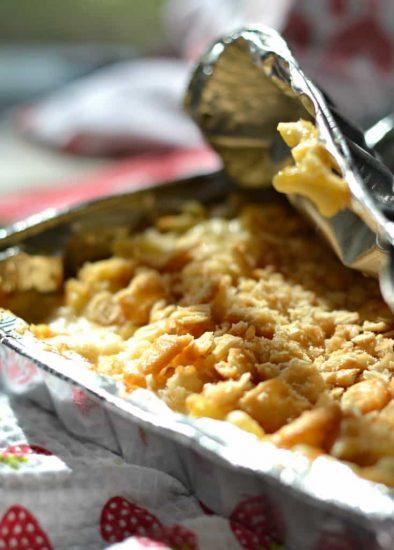 Campfire Macaroni and Cheese Recipe
