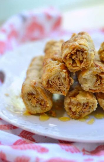 Honey Almond Pie Crust Cookies