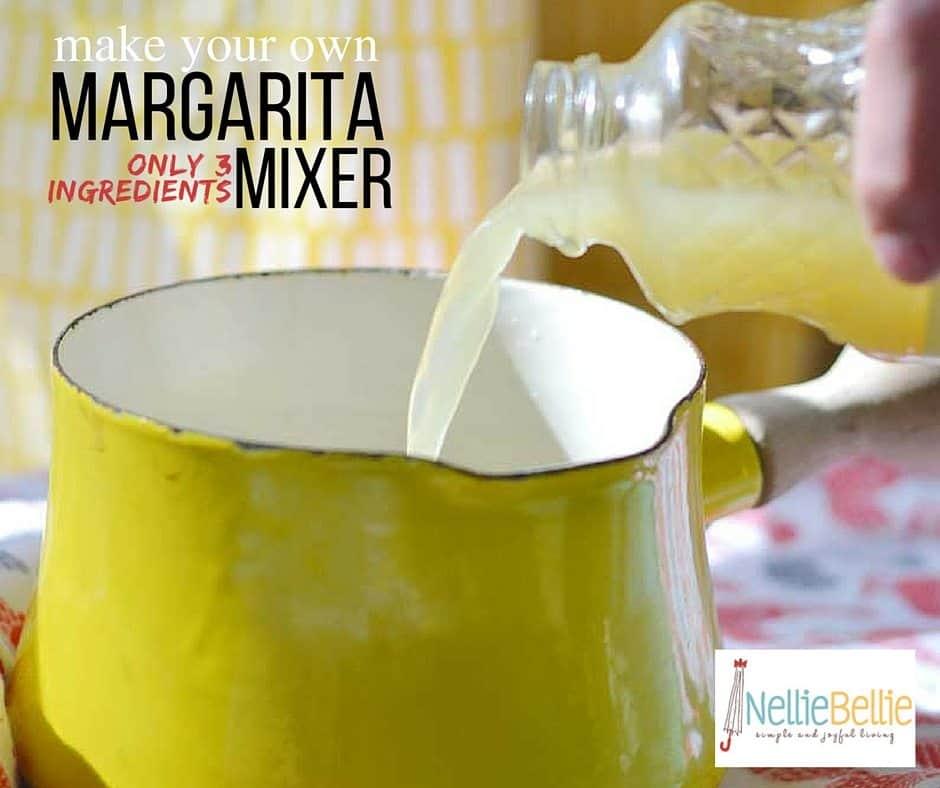 Homemade Margarita Mix Recipe