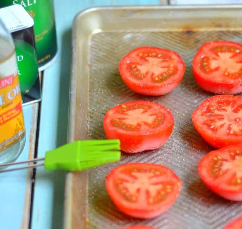 mozzarella roasted tomatoes 2