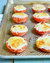 easy Mozzrella Roasted Tomato