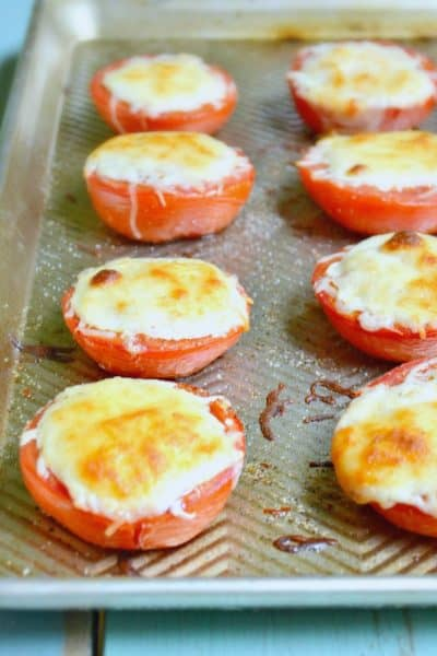 easy Mozzrella Roasted Tomato