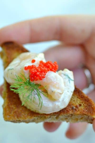 Swedish Skagen Toast