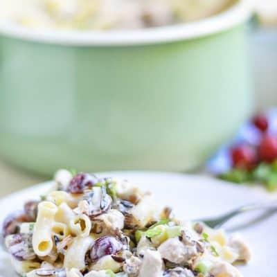 Chicken Wild Rice Pasta Salad