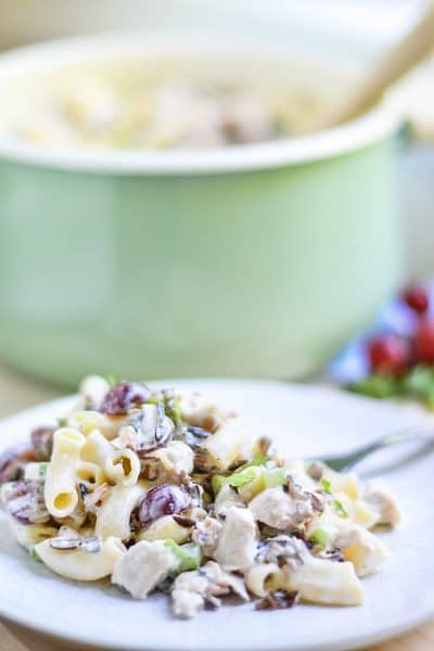 Chicken Wild Rice Pasta Salad