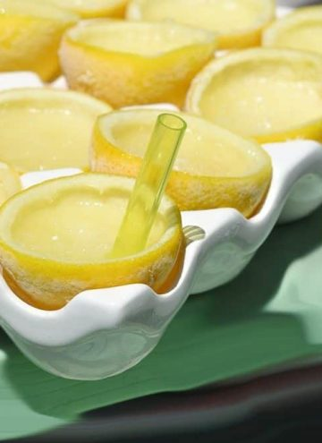 Frozen Lemon Drop Martini