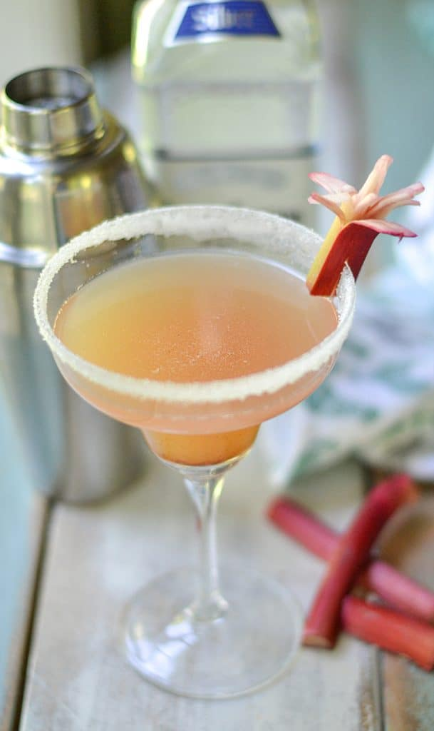 rhubarb margarita might be the best cocktail you will have all ...