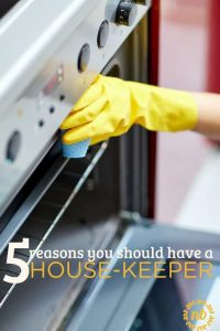 5 reasons you should have a house cleaner
