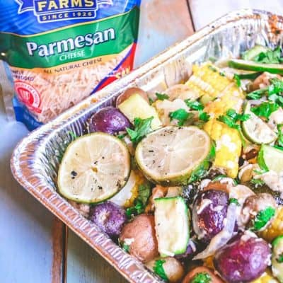 Parmesan Cajun Grilled Vegetables