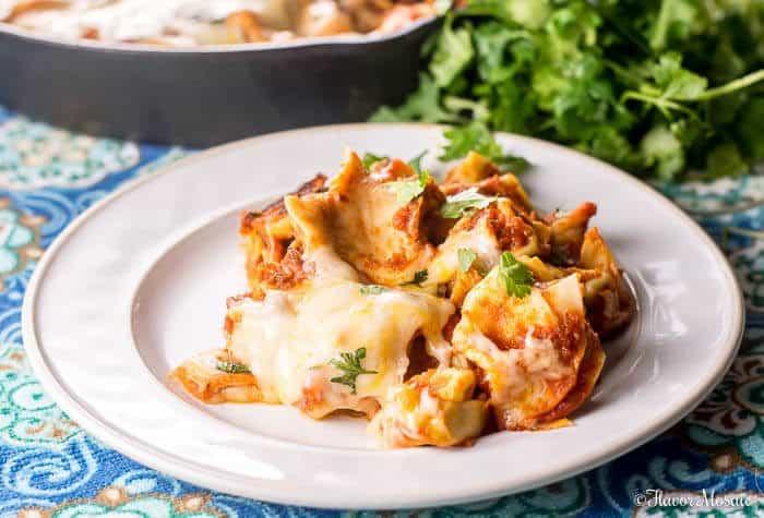 cheesy-tortellini-skillet-lasagna-simple comfort food