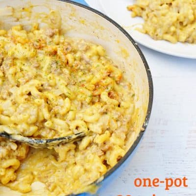 30-minute One-Pot Cheeseburger Macaroni