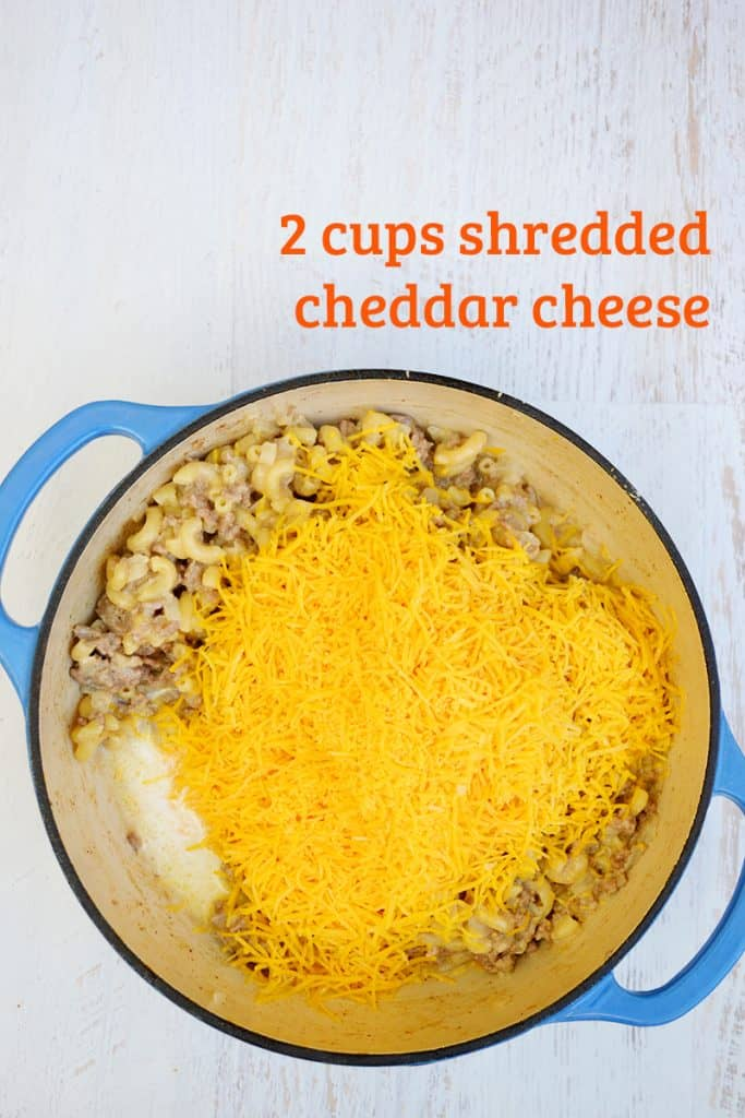 This recipe is a delicious recreation of the processed version of Cheeseburger Macaroni but uses all real ingredients. All in one pot and under 30 minutes.