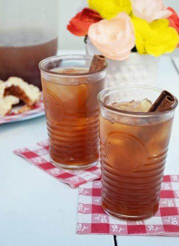Maple Cinnamon Iced Tea