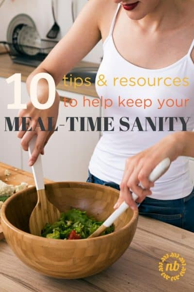 The Best Tips & Resources for Busy Mom's conquering family meals.