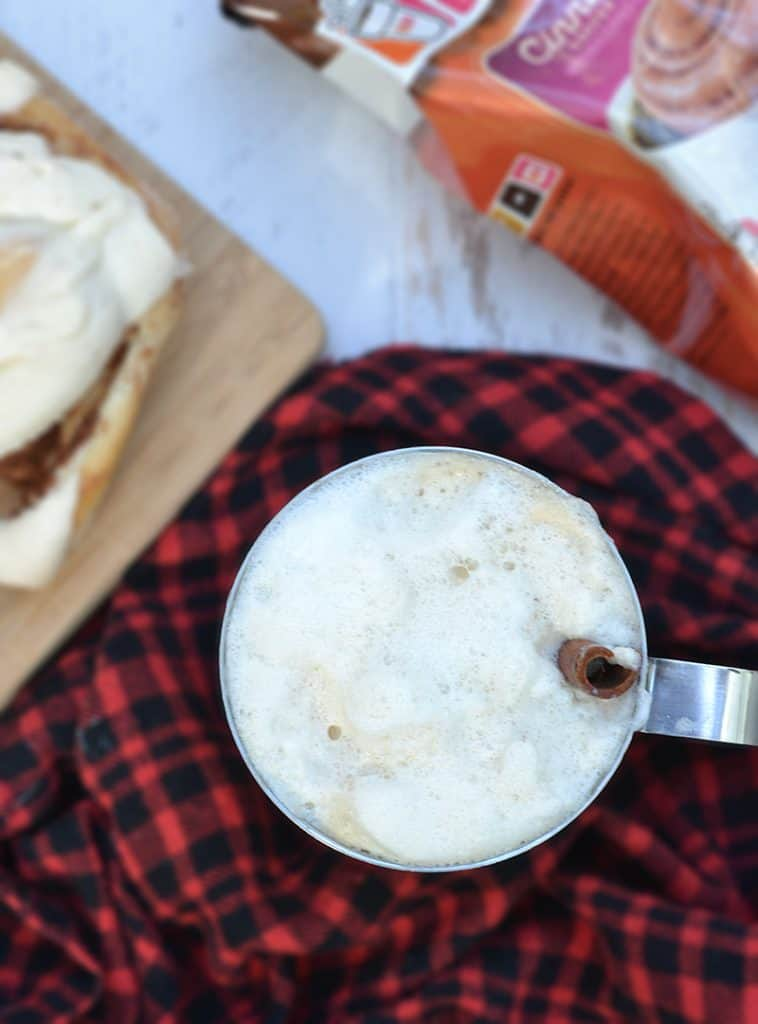 Make a Paul Bunyan latte, whip up a stack of pancakes, and enjoy an afternoon with your family... Minnesota style. A delicious Maple Cinnamon latte!