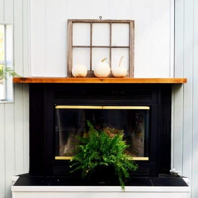 SunRoom Makeover – proof that paint is magic!