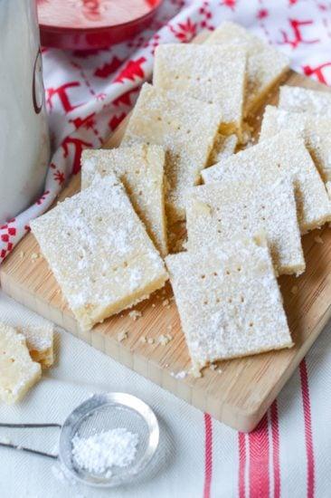 Classic 3-Ingredient Shortbread Cookies