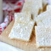 Classic 3-Ingredient Shortbread Cookies