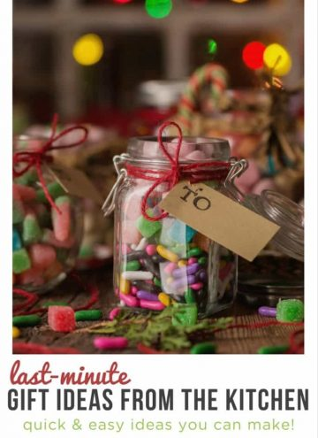 Last Minute DIY Christmas Gift Ideas from the Kitchen