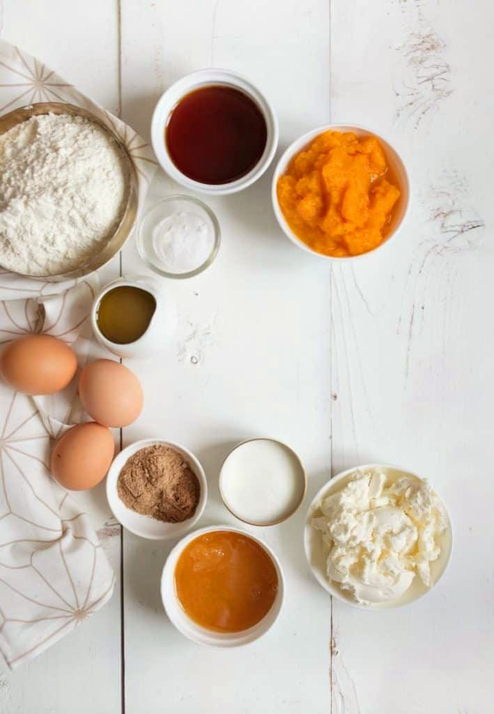 Butternut Squash Cake Ingredients