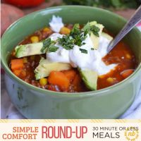Simple Comfort Food: 30-Minute (or less) Meal Round-Up
