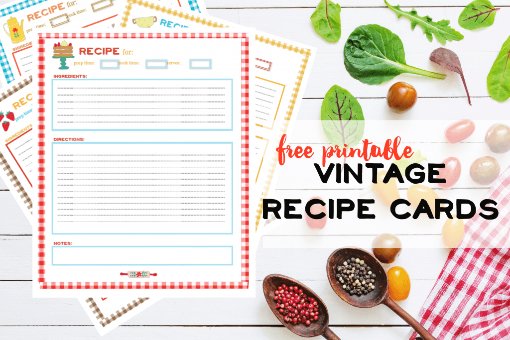 photo relating to Printable Recipe Pages referred to as Free of charge Recipe Webpages Printable ⋆ NellieBellie