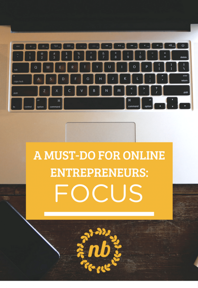 Anyone trying to be successful in the world of online business needs to know this lesson! Focus is important to be successful. No, it's vital!