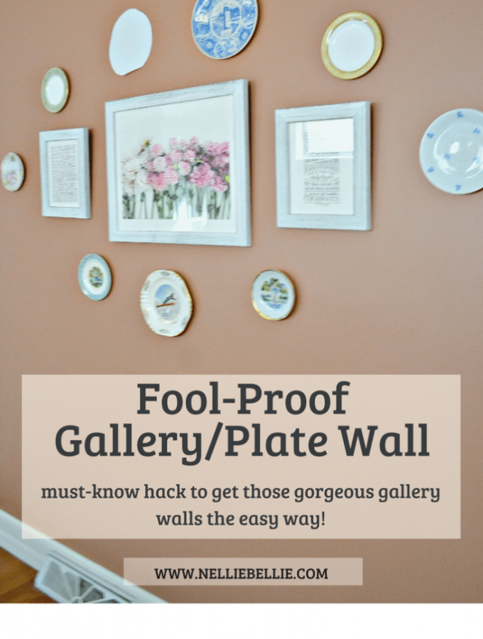 you need to know this easy hack for creating beautiful gallery walls without adding tons of unnecessary nails!