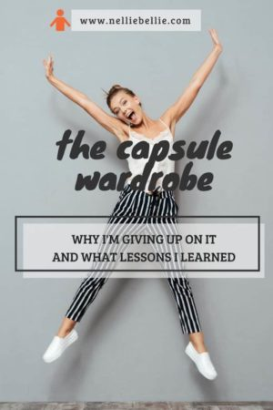Does a capsule work? The thoughts, lessons, and tips from over 2 years of using a capsule wardrobe.